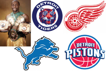 graphic design detroit lions red wings pistons tigers